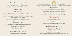 CERAMICA Invitation IN